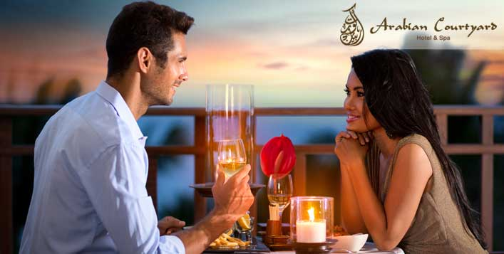 Romantic dinner for 2 at La Terrasse