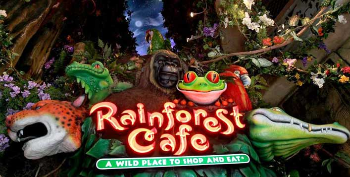 Buy1 Get1 Breakfast Voucher @Rainforest Cafe