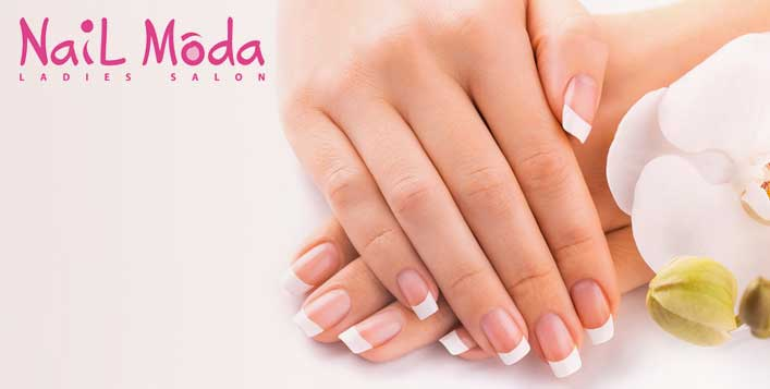 Acrylic nail extensions nail moda salon express yourself through your nails natural acrylic nail extensions from nail moda ladies salon for aed 149 solutioingenieria