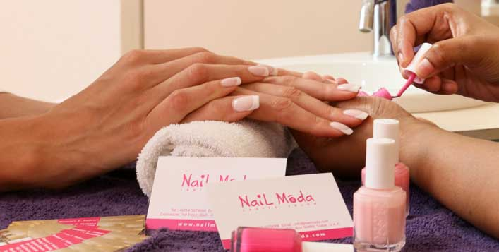 Acrylic nail extensions nail moda salon valid daily inside the wafi mall solutioingenieria