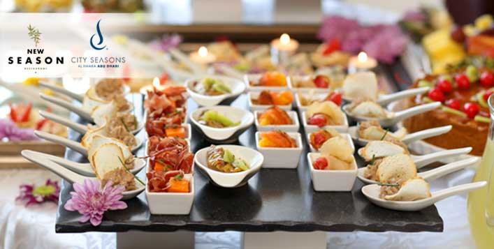 Dinner buffet with drinks for up to 4 people