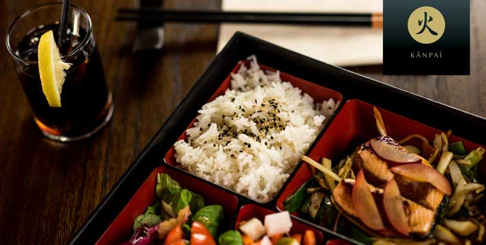 Choice of Bento set for 2 to 6 people