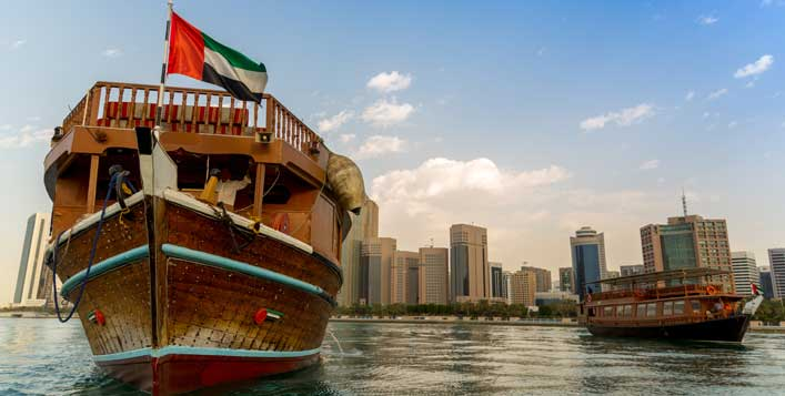 2 Hour Dubai Creek Cruise + Buffet