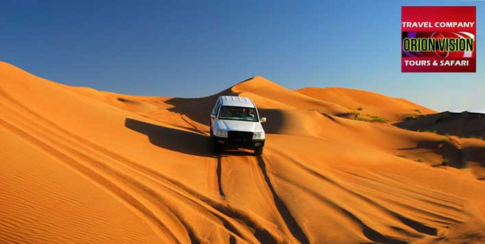 Desert Safari with BBQ Dinner & Entertainment