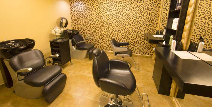 Pedicure, Brazilian waxing, Full hair colour