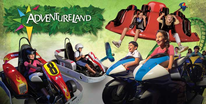 Over 20 thrilling rides and attractions!