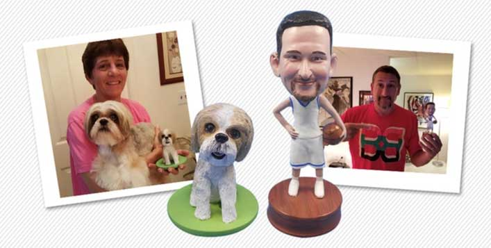 Single or couple bobblehead available!