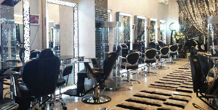 Root or full hair colour, mani-pedi and more!