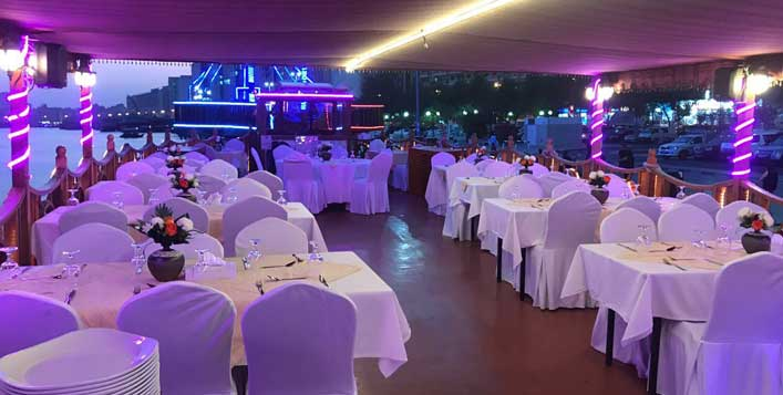 With dinner buffet & entertainment