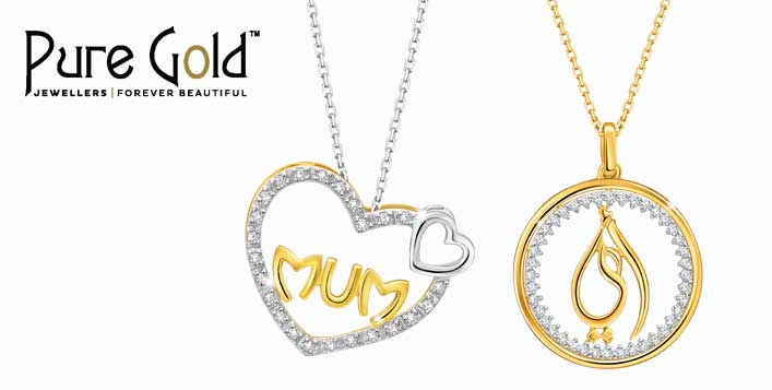 personalised family yellow poshtotty designs pure gold pendant original names necklace clear posh product with by finish chain standard totty trace
