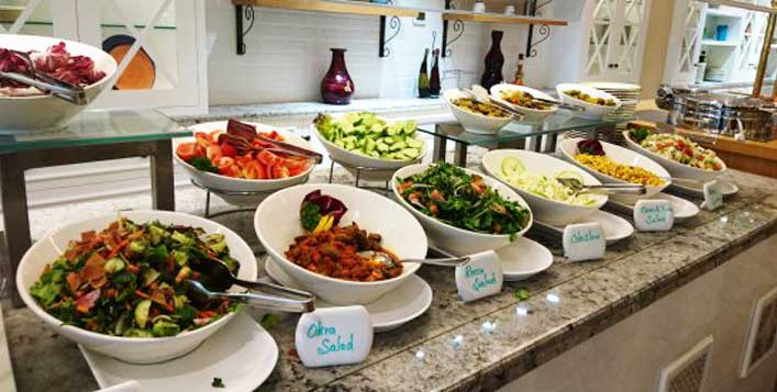 Friday brunch at Coral Beach Resort Sharjah