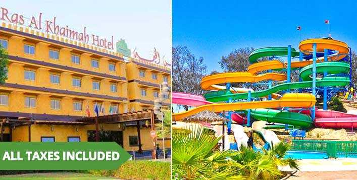 Ras Al Khaimah Stay+Dreamland Park Ticket