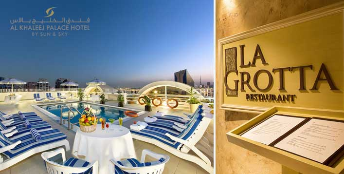 Daily at La Grotta, Al Khaleej Palace Hotel