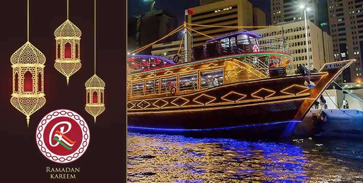 Iftar Buffet on Ramee Dhow Cruise
