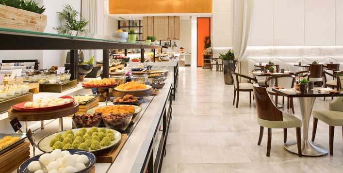 Win an Iftar buffet or a hotel stay for 2!