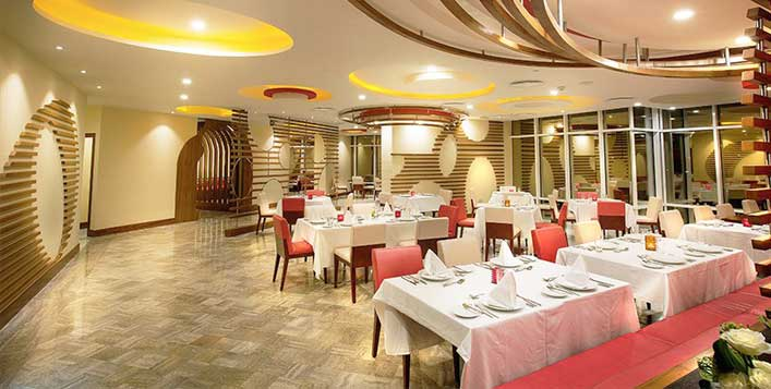 Valid at Fusion restaurant, Ghaya Grand Hotel