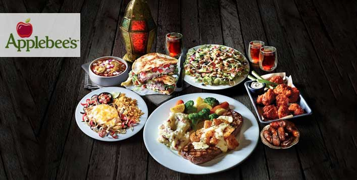 Applebee's Iftar Buffet  for 1, 2, 4 or 6