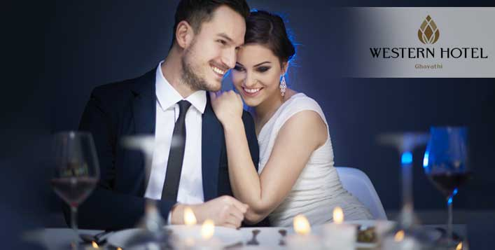 Stay, meal and romantic set up for 2 adults
