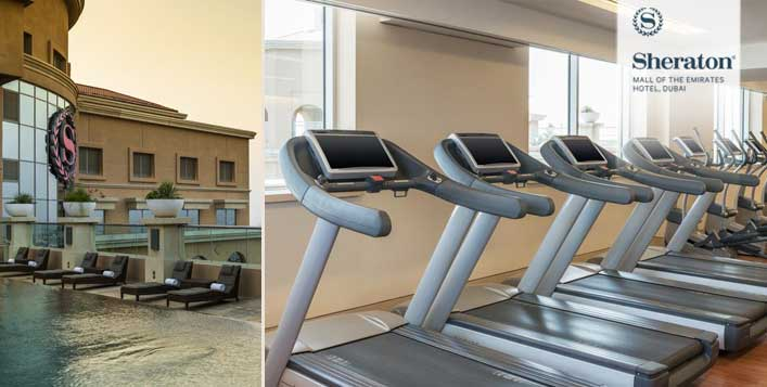Sheraton MOE Hotel Gym, Spa & Pool Access