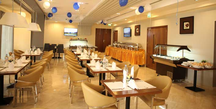 Multi-cuisine buffet at Fusion Restaurant