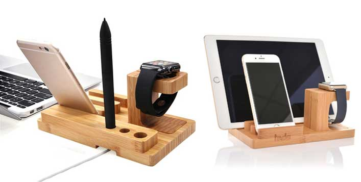 Multi-Function Smartphone &Apple Watch Holder