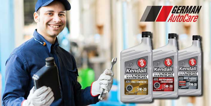 Kendall Oil & Filter Change & More Services