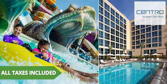 Playcation at Centro Yas Island by Rotana