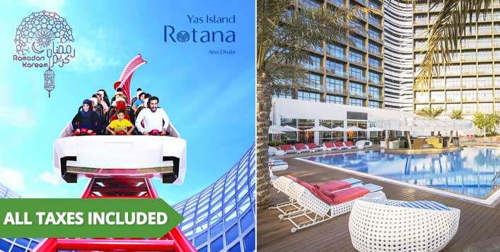 Playcation Offer at Yas Island Rotana