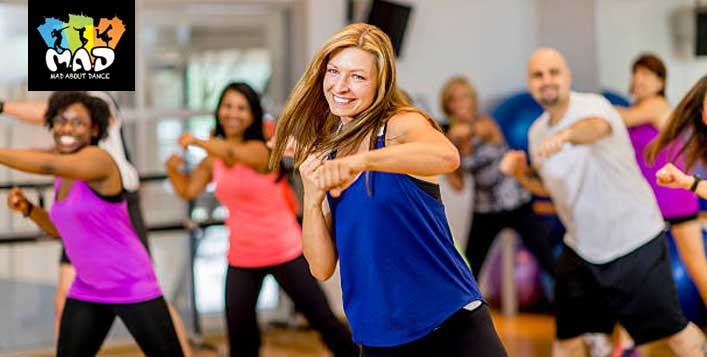 Up to 8 Zumba classes for women