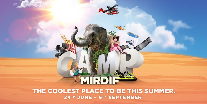 Summer Camp at Camp Mirdif, City Centre