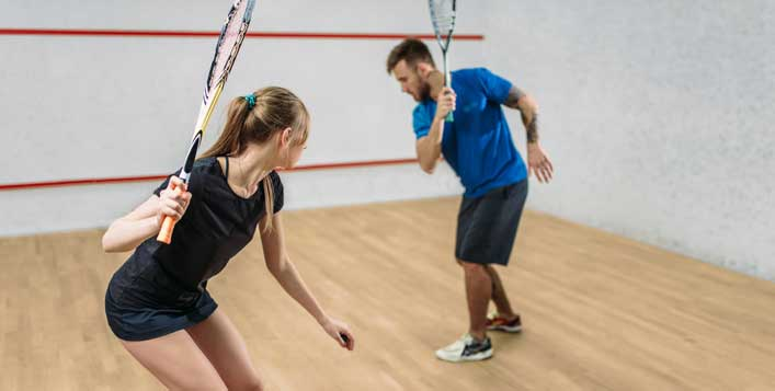 Squash and Swimming Training Sessions