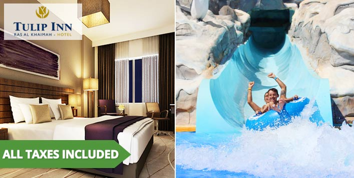 Tulip Inn RAK Playcation + Iceland Tickets