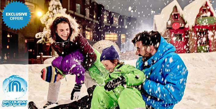 Unlimited Snow Classic access to Ski Dubai