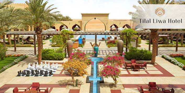 Half Board Stay Packages at Tilal Liwa Hotel
