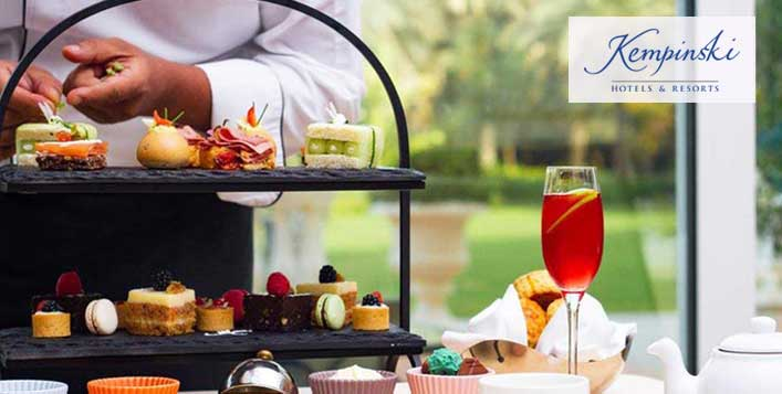 Afternoon Tea at Kempinski Hotel & Residences