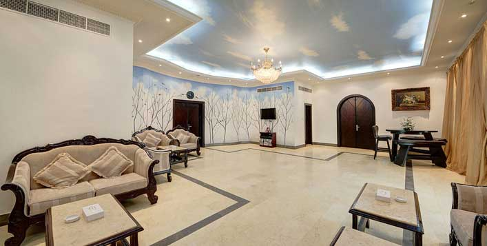 For up to 6 adults at Royal Residence Resort