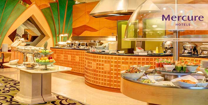 Lunch or Dinner Buffet - Le Belvedere, Al Ain