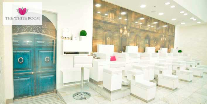 Hair and Beauty Package at The White Room Spa