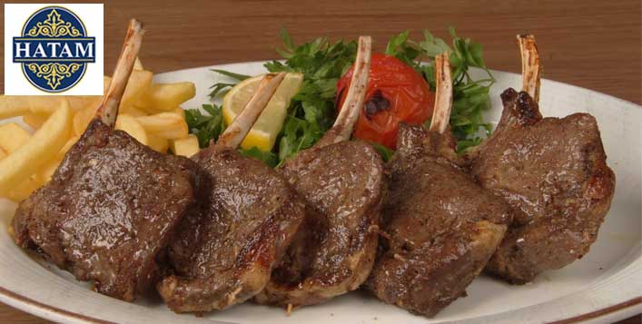 Save up to 46% at Hatam Restaurant