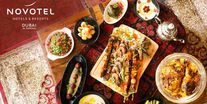 Eid Dinner Buffet at Novotel Al Barsha Hotel