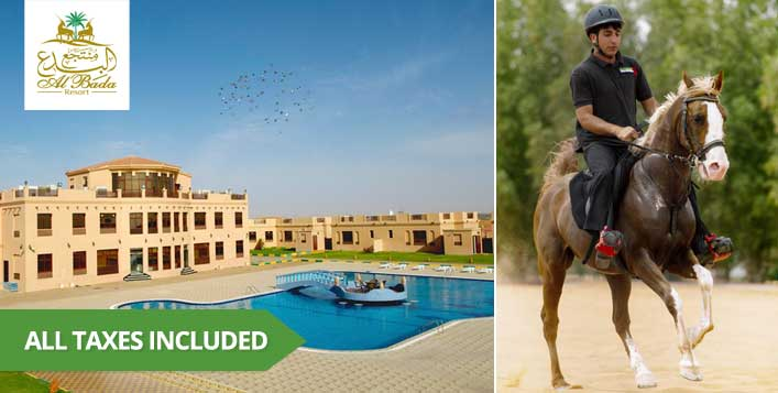 Family Getaway Packages at Al Bada Resort