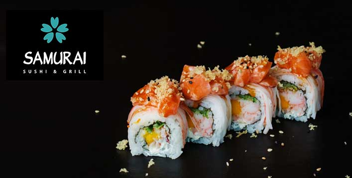 Includes unlimited Sashimi and Maki rolls!