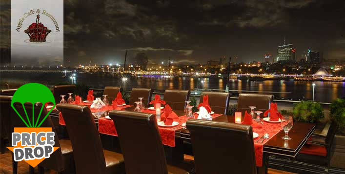 Persian & Continental cuisine with Creek view