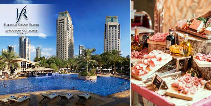 Saturday Brunch Buffet + Beach & Pool Access