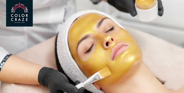 1 Hour facial with optional mani-pedi