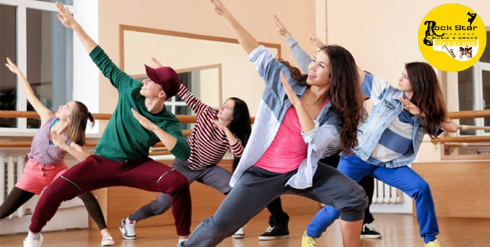 Up to 9 dance class sessions available