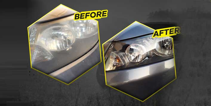 3-step restoration and ceramic protection
