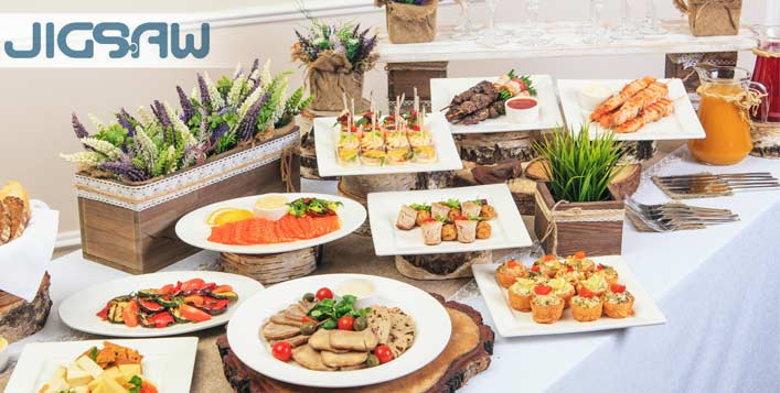 Lunch or dinner buffet + Unlimited beverages