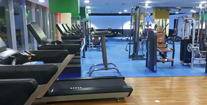 Full access to all modern fitness equipment!