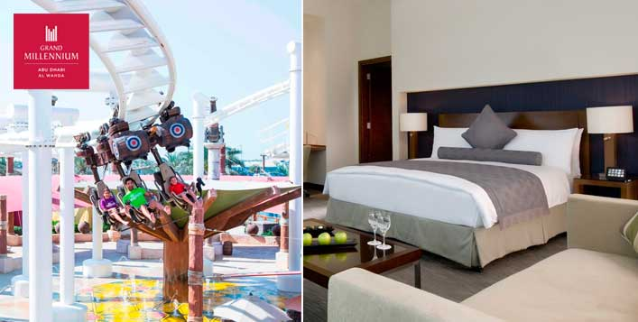 1 Night stay & choice of theme park